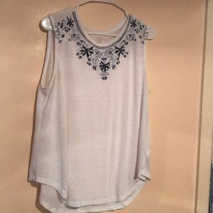 Sleeveless large top from Old Navy